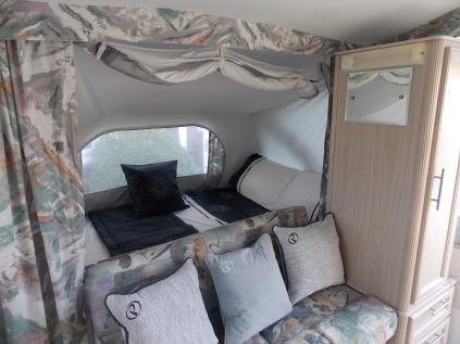 Fiesta Double Bed & Fixed Settee