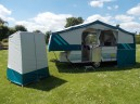 A 1998 Sterling With Matching Toilet / Utility Tent & Under Bed Skirt