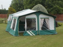 1998 Aztec With Optional Awning And Under Bed Skirt