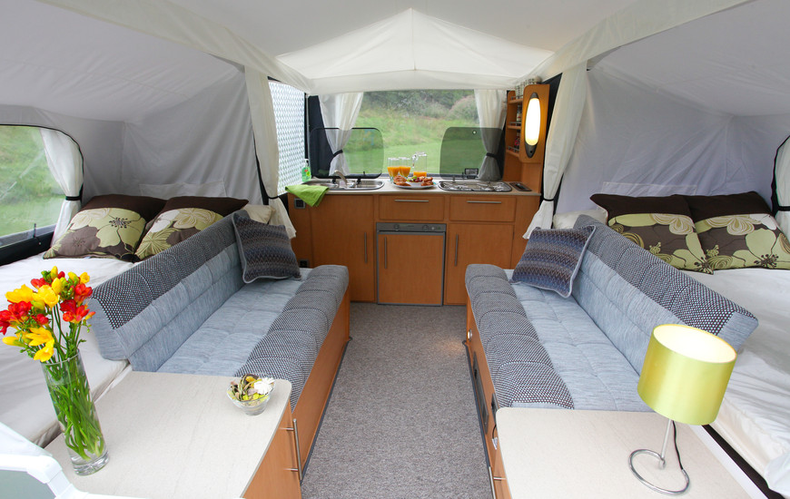 countryman-inside-3 & Choosing A Folding Camper Or Trailer Tent. What Are The Options ...
