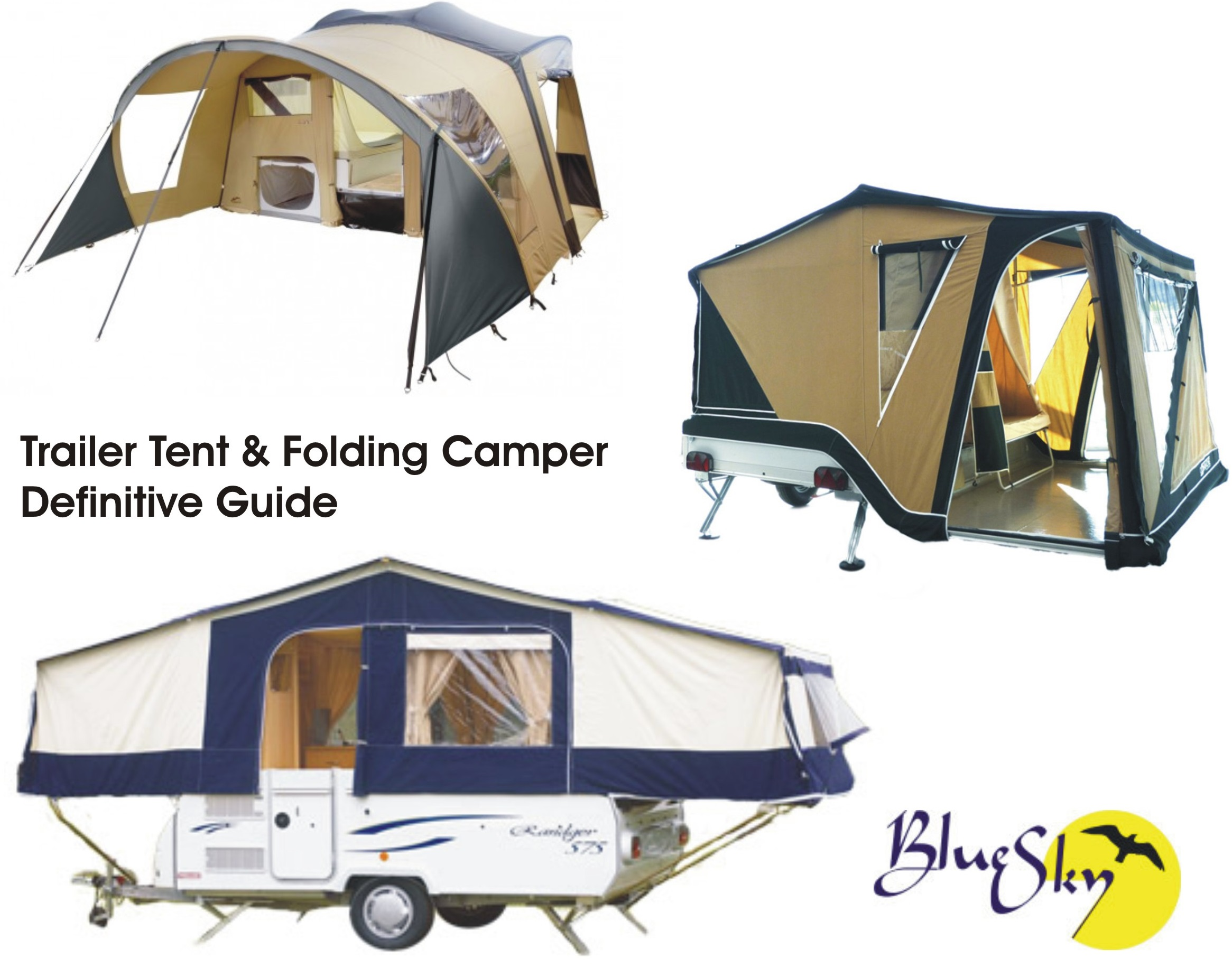 Choosing A Folding Camper Or Trailer Tent What Are The Options Blue Sky Thinking