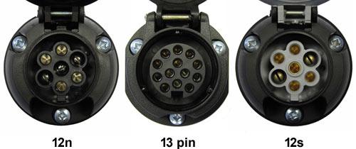 12N-13-Pin-12S-Sockets