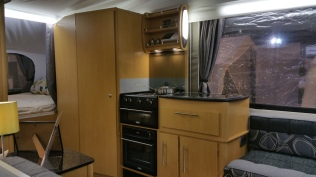 Pennine Pathfinder Kitchen / Toilet Compartment