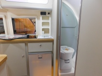 The Barefoot Kitchen And Shower / Toilet Compartment