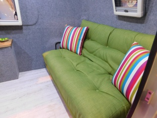 Free Standing Settee In The Demo Model